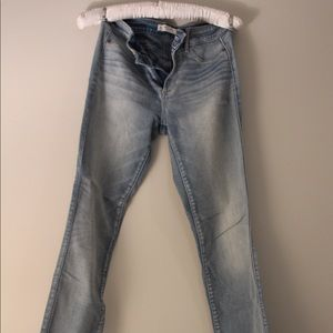 Light Wash Abercrombie & Fitch Skinny Jeans